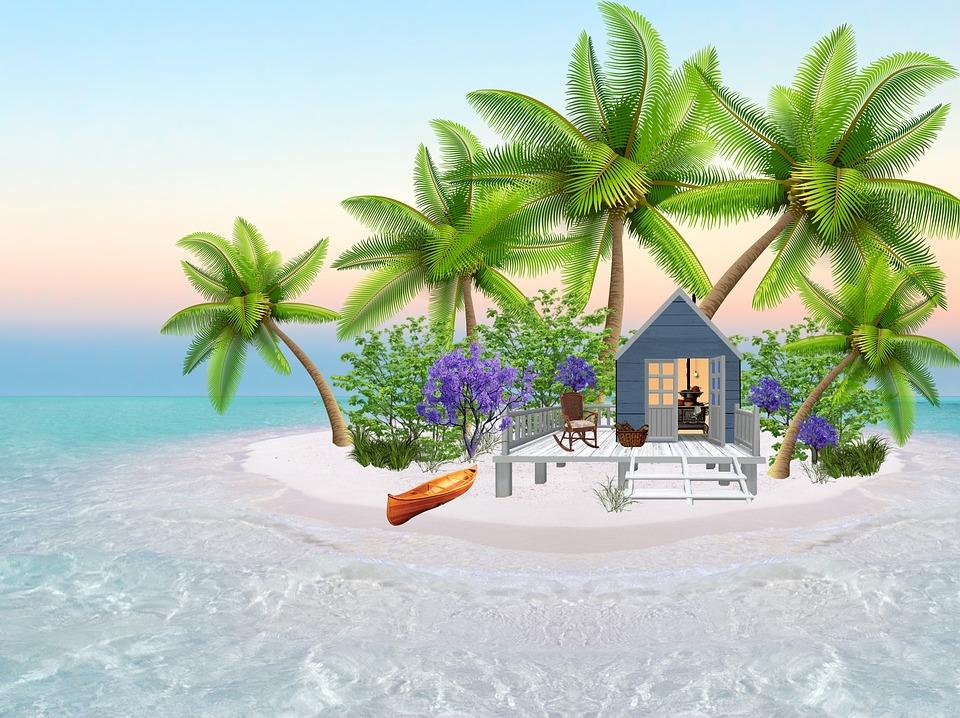 Domek na ostrově