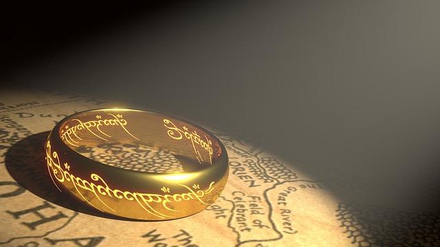 prsten na mapě