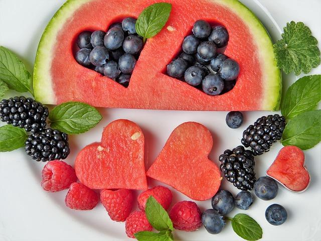 melounová srdce