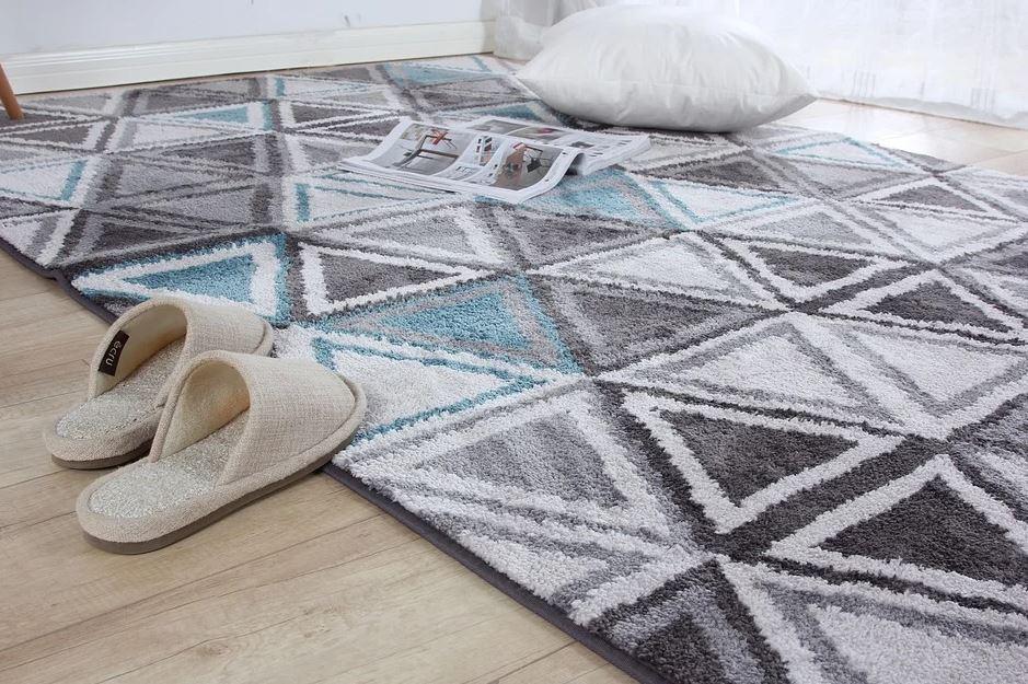 koberec a papuče